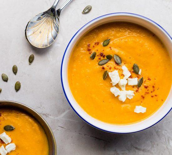 Pumpkin Carrot Soup Recipe